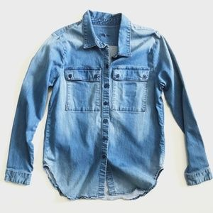 Kut from the Kluth Denim Shirt Nora Large